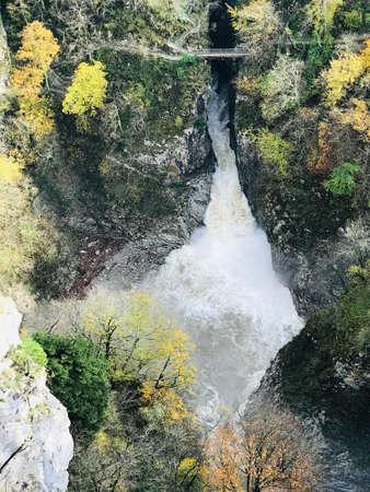 Scenery above Skocjan Caves in Slovenia.
