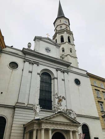 The Augustinian Church in Vienna, Austria.