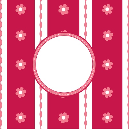 funny pink background with text Vector