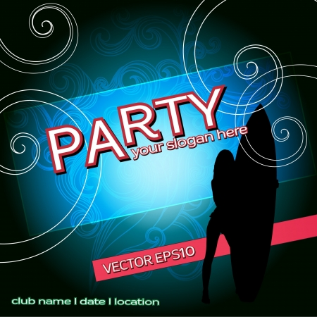 Party flAyer design template, PARTY SUMMER FLAYER, SUMMER PARTY BACKGROUND,