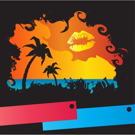 summer tropical