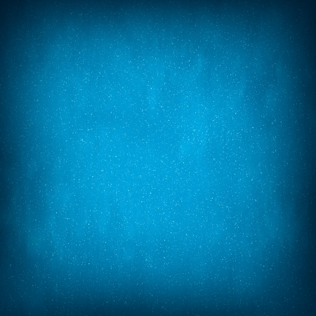 Light Blue Abstract Christmas Winter Background with Falling Snow Stock Photo