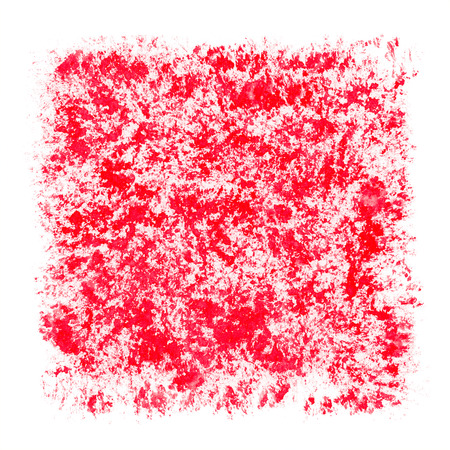 stippled: Red Watercolor Patchy Textured Square Frame Border Stock Photo