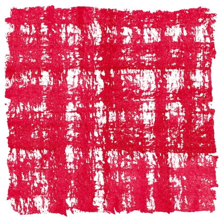 crosshatched: Red Watercolor Square Crosshatched Frame Border Stock Photo