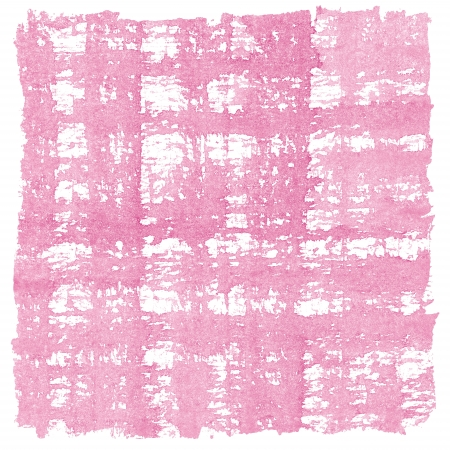 crosshatched: Pink Watercolor Crosshatched Square Background Frame