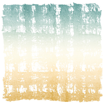 cross hatched: Abstract Watercolor Retro Sky and Earth Square Frame Stock Photo