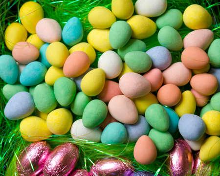 다채로운 캔디 계란