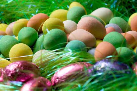 다채로운 사탕 계란