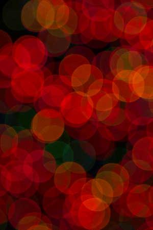 unfocused: colorful Unfocused Christmas lights