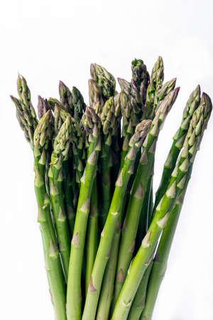 bundled: Asparagus Stalks bundled together