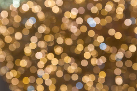 Abstract background of out of focus lights Stock Photo