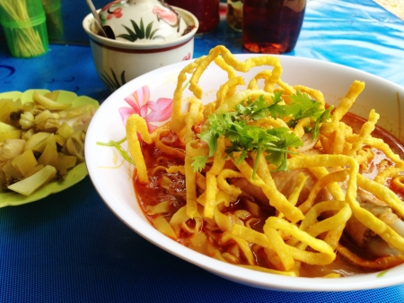 soi: Kao Soi the noodle of Northern Thailand