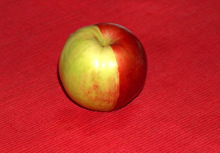 Apple red-green
