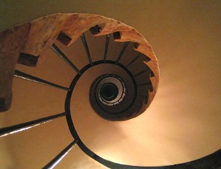 Winding stair Stock Photo - 2934643