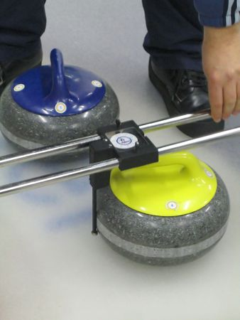 Sport: curling dispute Stock Photo - 2978893