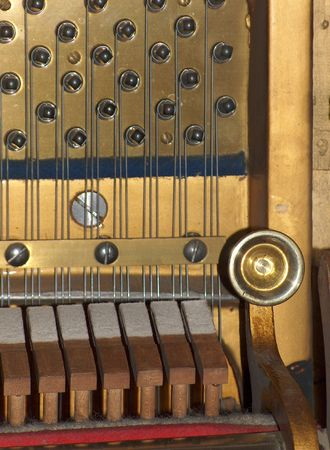 Piano: strings and hammers