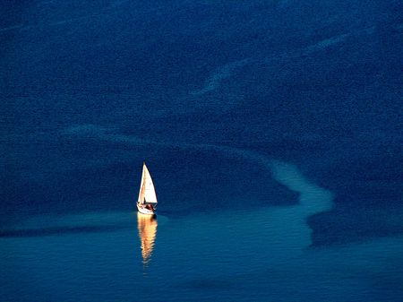 Sailboat on the Balaton