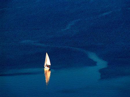 Sailboat on the Balaton