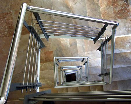 Modern winding stair