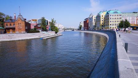 러시아 모스크바 강