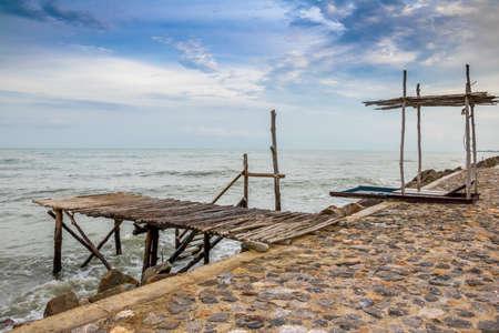 insular: sea Stock Photo