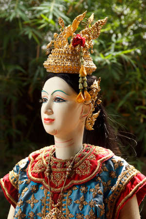 thai classical puppet Stock Photo