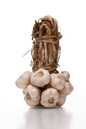 pungent: bunch of garlics