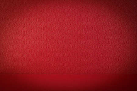 textured paper background: texture of red paper backgrounds Stock Photo