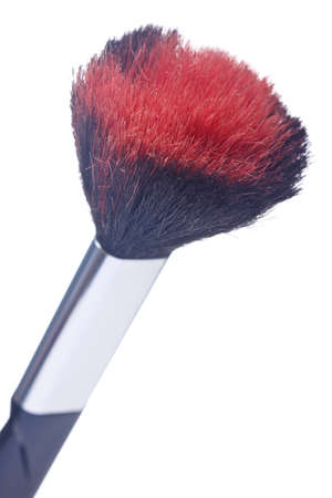 blushing: Blushing brush isolated on white backgrounds