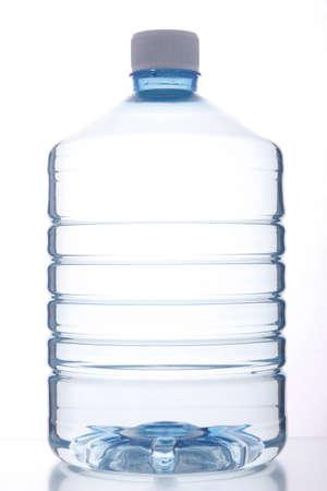 plástico recipiente de agua potable