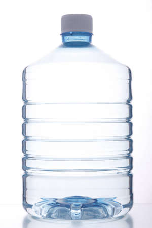 gallon: plastic drinking water container