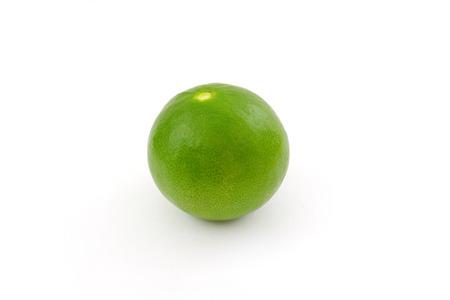 lemon wedge: Limes isolated on white background