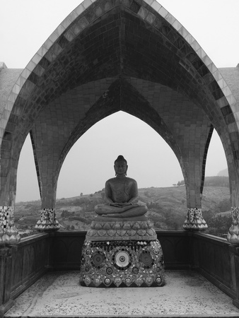 preacher: Buddha at Wat Pha Glass.