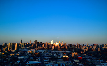 NYC in the morning Stock Photo