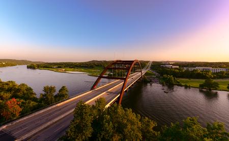 Austin 360 bridge Stock fotó