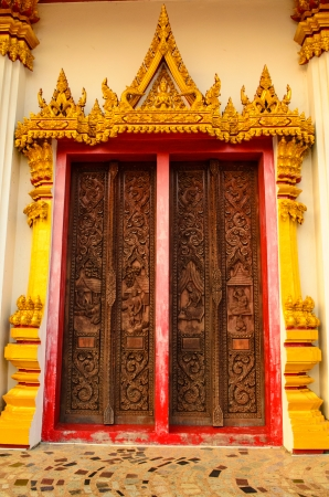 Door tample photo