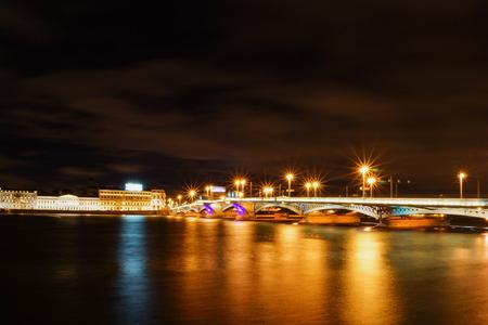 neva: Saint-Petersburg. Neva river.