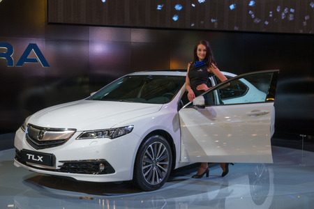 acura: The international motor show in Moscow. 2014.