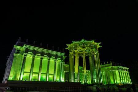 enea: The Culture Pavilion. Festival. Circle Of Light. Russia. Moscow. ENEA.VDNKH.