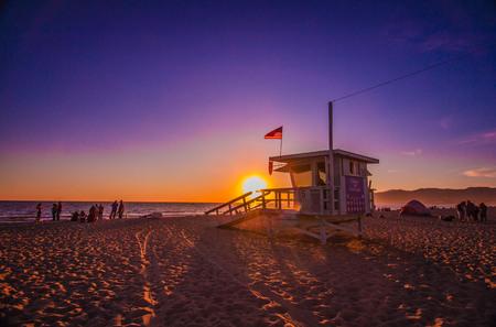 Sunset on Santa Monica Beach, 22nd Sept 6:30pm.