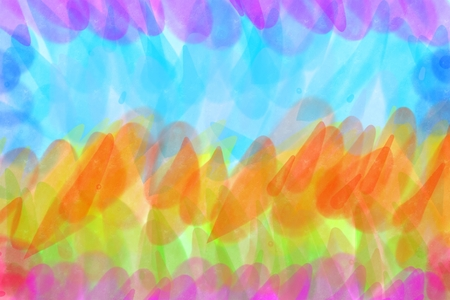 Rainbow colorful watercolor background