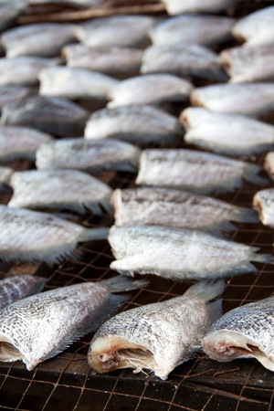 shop for animals: Gourami is dry out in fresh-food market