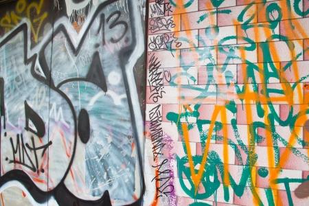 coefficient: Street art on the walls Stock Photo