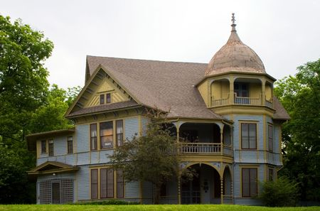 Gothic Victorian style house Stock Photo - 441516