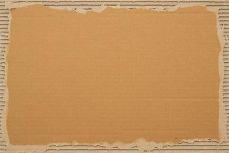 papel reciclado: Desechos de lámina de cartón, como un fondo para el texto