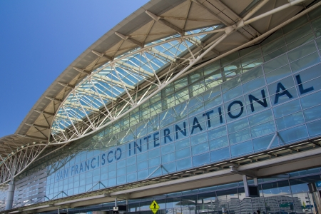 Exterior view of San Francisco International airport
