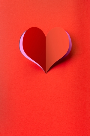 truelove: Heart shape background useful as postcard or greeting card