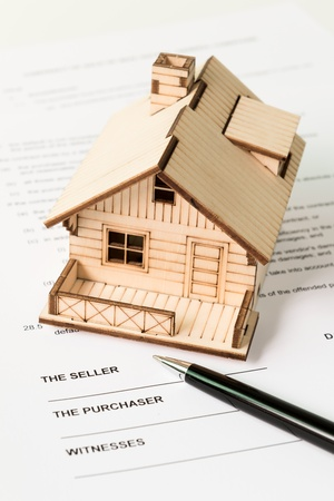 repossession: Legal document for sale of real estate property