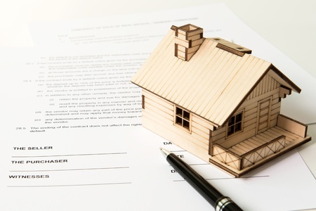 selling house: Legal document for sale of real estate property
