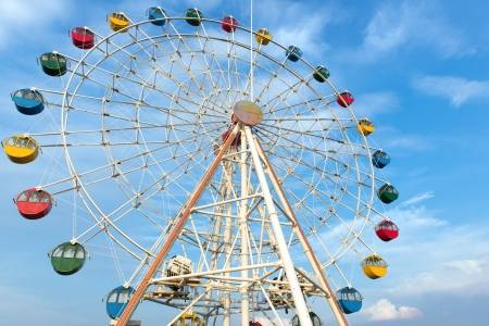 Giant ferris wheel at i-city, Shah Alam in Malaysia Publikacyjne
